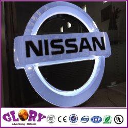 Groothandel reclame Custom Metal 3D Car Sign Auto Logo