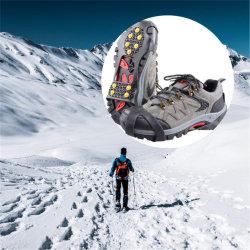 Los tacos de tracción antideslizante invierno nieve Hielo mangos para caminar y subir