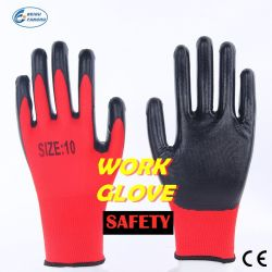 Nicht Wegwerfhaushalts-Sicherheits-schützender Arbeits-Nitril-Handschuh