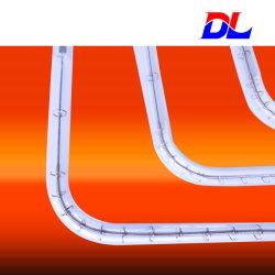 U-vorm Gloeilamp van de Verwarmer van de Lamp van het Halogeen de Infrarode voor het Speciale Verwarmen van het Gebruik