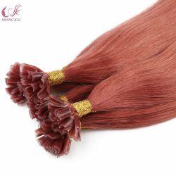 Beste verkaufenextensionen des 100% menschliche Jungfrau Remy Haar-Nail/U-Tipp