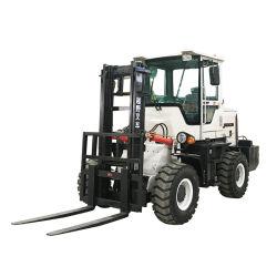 Certificação Ce 4WD multifunção empilhadores todo o terreno diesel carro 1t 2t 3ton 3.5Ton 4 Ton 5 ton 6 ton 7 ton Preços com diversos acessórios