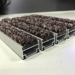 Les chaînes en acier inoxydable aluminium Porte connexion meilleur tapis d'entrée