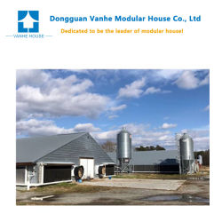 Fábrica de profissionais a exportação directa Eco-Friendly Pronto totalmente mobilados com um design moderno de PET de frango House