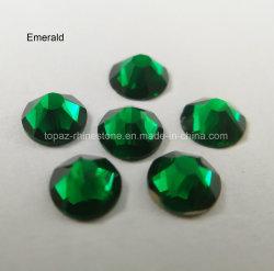 5A Emerald SS20 Cristal Strass de cristal de Rhinestones Prendas de Vestir Accesorios (ER-16)