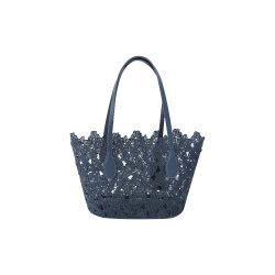 BSCI Usine de femmes meilleure vente de produits de la Dentelle sac sac de plage de la mode