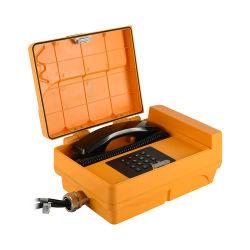 Farbe Custimized Telefon-Antike-Telefon geschnürtes Überlandleitung-Telefon-wasserdichtes Telefon für Fabrik