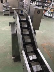Prodotti irregolari Ah-Lds100 della macchina imballatrice della catena di persone di prezzi della macchina per l'imballaggio delle merci delle patatine fritte