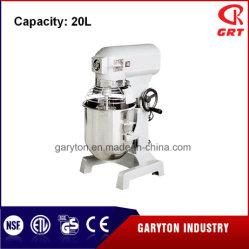معدات المطبخ 20 لتر معدات خلط الطعام آلة خلاط حلزونية صناعية خلاطة كوكبية الدوران