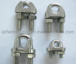 Faible coût DIN 304/316 en acier inoxydable741 Wire Rope Clips avec finement poli