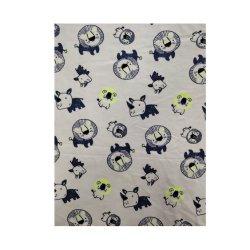 Tessuto lavorato a maglia stampa viscosa calda dell'acqua della Jersey del cotone del commercio all'ingrosso della fabbrica di vendita singola
