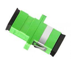 Fabricante de Fibra Óptica Sc Macho para LC Femela Adaptador híbrido, Sc APC Simplex Flange de fibra do Acoplador de fibra, fibra óptica Adapter