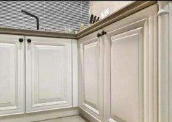 E0e1e2 18мм Деревянные зерна ПВХ кухонные двери распределительного шкафа