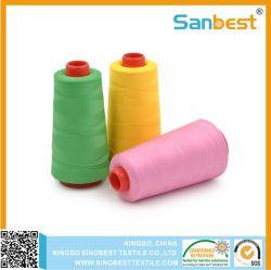 Полиэстер завернутые полимерная Core швейных резьба для куртки