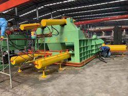 Hydraulische Ballenpressen für Schrott des Stahls, des Kupfers und des Aluminiums