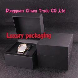 250 g/m² de papier Kraft noir de l'emballage pour les boîtes de montres de luxe fabricant