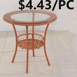 卸し売り屋外の庭のプラスチック柳細工の家具の屋外の藤の椅子表