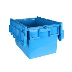 Directamente da fábrica venda Caixa Grande recipiente de plástico com tampa articulada