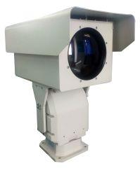 1024X768 PTZ com resolução HD de vigilância de segurança câmara térmica de longo alcance