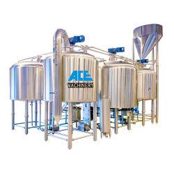 Una calidad superior en acero inoxidable 5bbl 10bbl equipamiento comercial cerveza Mash Lauter Tun con fondo falso