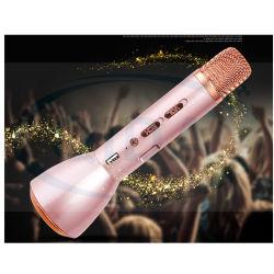 Commerce de gros mini microphone portable sans fil Bluetooth Karaoke Le président Mic