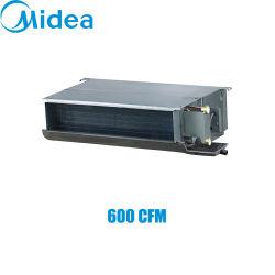 MIDEA 2열 덕트 220-240V/1ph/50Hz 600cfm 냉각수 팬 코일 유닛