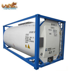 L'ONU Portable T11 21000 à 26000L 316L'ISO pour la vente de conteneur de réservoir