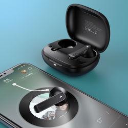 Usams беспроводные наушники вкладыши гарнитуры Bluetooth наушников Tws 5.0 с случае зарядки аккумуляторной батареи