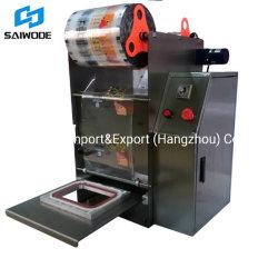 印刷機能付きアルミフォイルトレイシーラー成形機