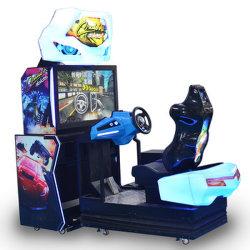 Voiture dynamique Coin exploité 42 pouces Voiture de course arcade de jeux vidéo de la machine 1 Player