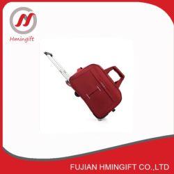 Firmenzeichen Soem-weiche Gewebe-Laufkatze-purpurroter Gepäck-Koffer-Beutel-Arbeitsweg-Gepäck-Beutel mit Rädern