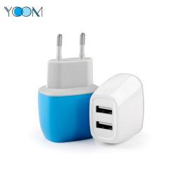 Doble cargador USB Ycom personalizado para teléfono móvil