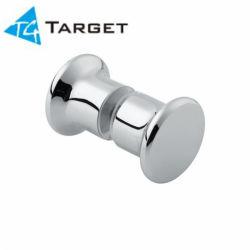 Bouton de porte de douche de 40 mm de diamètre dos à dos pour 6 à 12 mm en verre (SK-05)