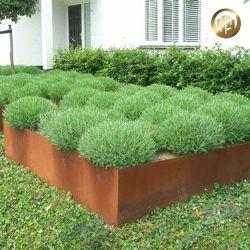 Rusty Garden semoir/Grand Pot de Fleurs Décoration d'acier Corten/boîtes pour Outdoor