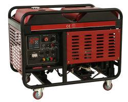 CE 교류 발전기가 장착된 10kVA 단상 오픈 유형 디젤 발전기