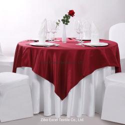 Tovaglia impermeabile decorativa di modo di cerimonia nuziale di banchetto dell'hotel della casa del partito del poliestere