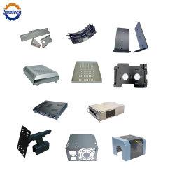 Zoll Soem exaktes Laser Cuting CNC-verbiegendes Schweißen, das AluminiumEdelstahl-Blech-Schrank-Gehäuse-Gehäuse-Halter-Teil-Herstellung bildend stempelt