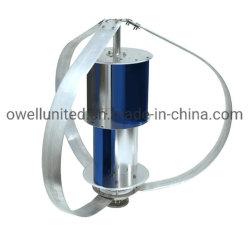 El eje vertical 100W-500W de personalización de la forma de linterna multicolor Aerogenerador