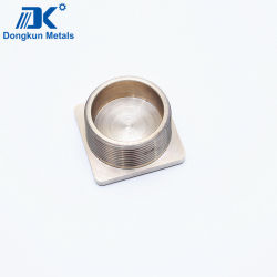 Fabricante China maquinado CNC de OEM de la placa de cubierta de la caja