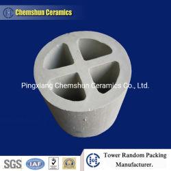 Aufsatz, der keramischen Kreuz-Partition Ring für saugfähige Spalte packt