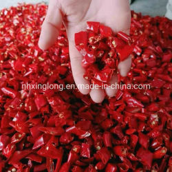 Zerquetschte roter Paprika-Pfeffer-Segment-Paprika-Ringe