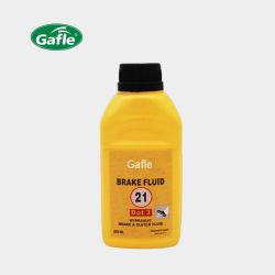 L'huile Lubraicant Gafle 250ml/500ml de l'automobile à base de glycol liquide de frein DOT3
