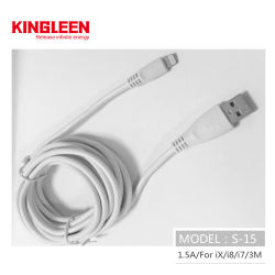 10FT extra-longo cabo de sincronização e carregamento USB compatível com cabo iPhone Xs/Max/X/8/8plus/7/7plus