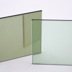 زجاج عوامة أخضر فرنسي / زجاج عاكس أخضر داكن