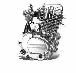Pièces de moteur 4 temps de montage du moteur de moto 50/70/90/100/110/125 cc moteur vertical