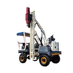 Экономического гидравлический County дороги куча драйвера оборудования с вибрирующим молоток для металлических устройство микросвай