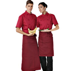 Бар сотрудников/официант/Waitress/красный пиджак шеф-повара шеф-повар ресторана единообразных