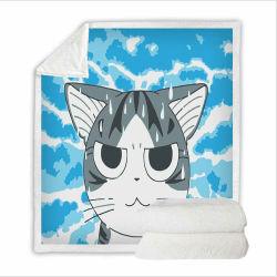 Чи Cat 3D-печати изображений постельные принадлежности, одеяло из текстиля