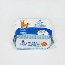 Utilisation de tissus de coton de tissu non tissé