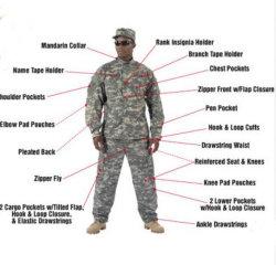 Hoge Kwaliteit Militaire Kleding Van Security Guard Uniform For Men